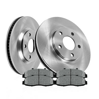 Front Brake Rotors And Metallic Pads Five Hundred Freestyle Taurus Montego Sable