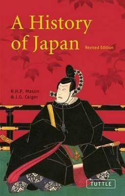 NEW A History of Japan By J.G. Caiger Paperback Free Shipping