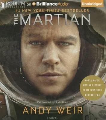NEW The Martian By Andy Weir Audio CD Free Shipping