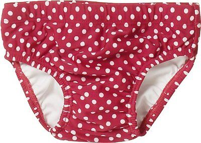 (TG. 74/80) Rosso (Rot (8 rot)) Playshoes Baby 461040 100 - Costume slip a pois,