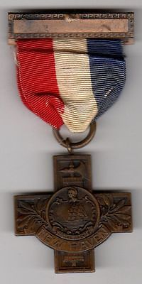 Original US local Connecticut WWI Victory Service Medal Cross 1917-1919