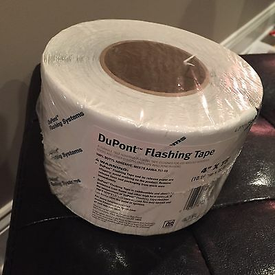 """DuPont Flashing Tape 4""""*75"""" Doors Windows And Other Penetrations, Pl Buy 2 Min)"""