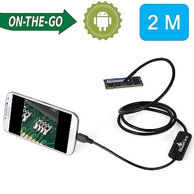 BlueFire 7mm Android Endoscope IP67 Waterproof USB Inspection Snake Tube Came...