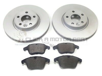 Range Rover Evoque 2011-2015 Front 2 Brake Discs And Pads Set New (Read Listing)