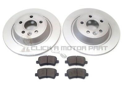 Range Rover Evoque 2011-2015 Rear 2 Brake Discs And Pads Set New (Read Listing)