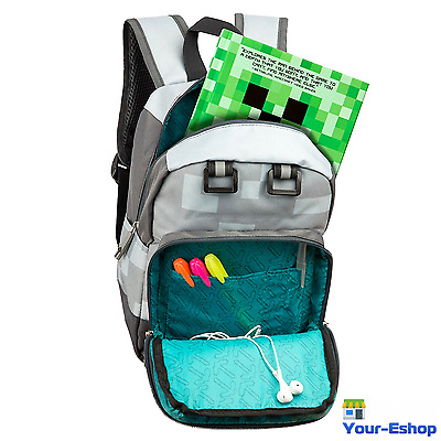 Minecraft Boys Girls Kids Men Women Backpack School Travel Bag Mini Backpacks