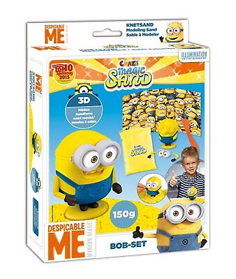 Crace Magic Sand  Minions Spielset Bob 150g Magicsand