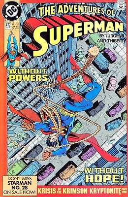 The Adventures of Superman #472, Vol. 1 | VF | DC Comics | HOBC