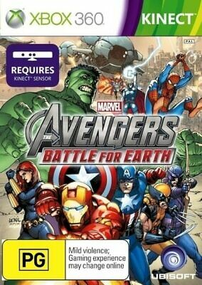 MARVEL AVENGERS Xbox 360 ✓ BRAND NEW ✓ SEALED ✓ AUSSIE GAME The Battle for Earth