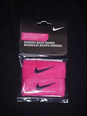 NIKE Breast Cancer Awareness Pink Swoosh NFL Bicep Wrist Biceps Band BCA Hope
