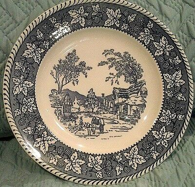 "Dinner Plates 10"" Homer Laughlin Stratwood Collection Shakespeare Country"