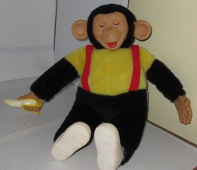 "Vintage Mr Bim Howdy Doody Stuffed Monkey Doll Zippy The Chimp Zip 16"" Plush Toy"