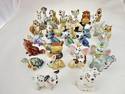 Wade Disney, Hatbox, Whimsies 1956-65 + 1981-87 Many to Choose from. (Perfect)