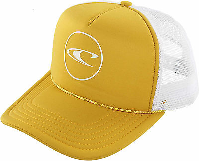 O'Neill Big Boys Party Wave Truckers Hat One Size Gold/white
