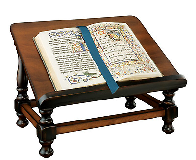 Dictionary Book Easel Holder Display Stand Wooden Lecturn Podium Antiquarian