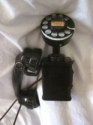 Western Electric Model 201 Early Small Wall Telephone