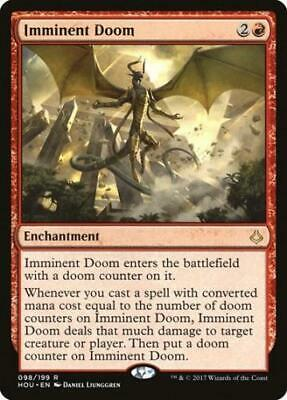 2x Imminent Doom - MTG Hour of Devastation - NEW
