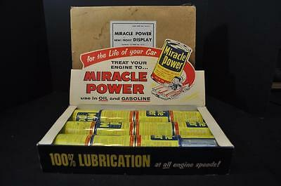 Miracle Power Auto Engine Additive Display Box with Cans