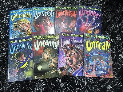 Paul Jennings 8 Book Set Brand New