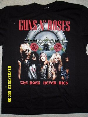 Guns 'n' Roses - The Rock Never Dies  -  T-Shirts