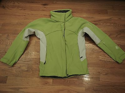 0b0fa19d66 SALOMON WOMEN SKI Jacket Size XS Soft Shell Clima Pro Green -  19.99 ...