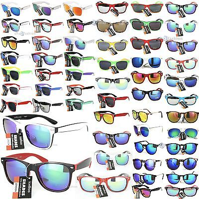 Sunglasses Retro Vintage 80's Mens Womens Ladies Designer UV400 lens Sunglass