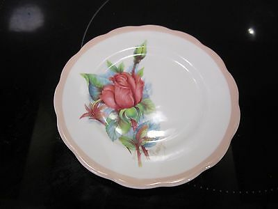 Roslyn China Wheatcroft Roses No.1 Rendesvous Side Plate