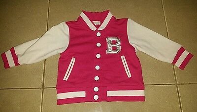 charlie and me bomber jacket baby girls sz 2