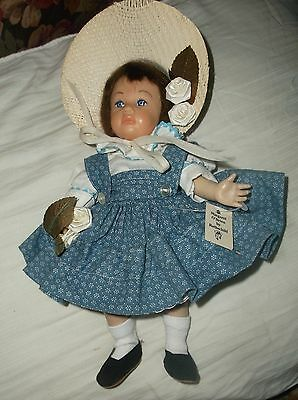 11-in Margaret O'Brien doll by Mimi Rothschild, vintage 1980s, no box