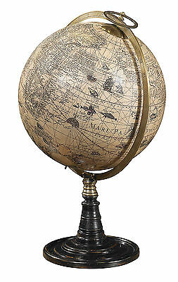 AUTHENTIC MODELS Old World Globe with Stand Antique Reproduction