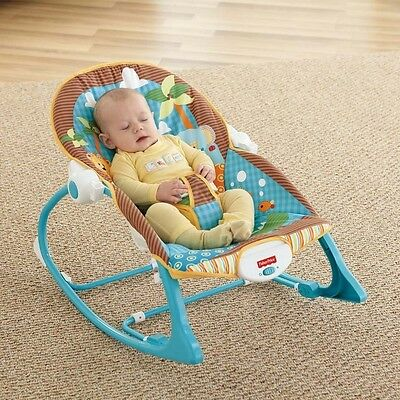 Baby Swing Newborn Infant to Toddler Portable Fisher Price Rocker Bouncer Seat
