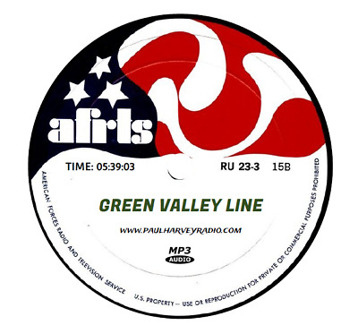Green Valley Line (26 Shows) Old Time Radio Mp3 Cd