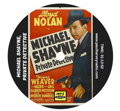 Michael Shayne, Private Detective (67 Shows) Old Time Radio Mp3 Cd