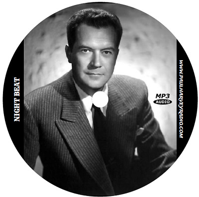 Night Beat (83 Shows) Old Time Radio Mp3 Cd