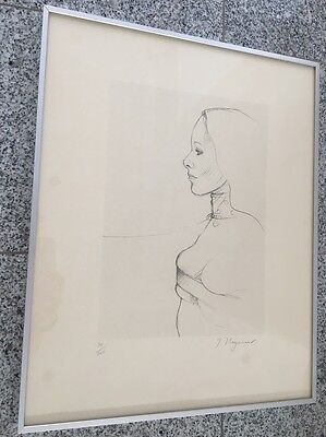 Tomi Ungerer Lithographie signiert