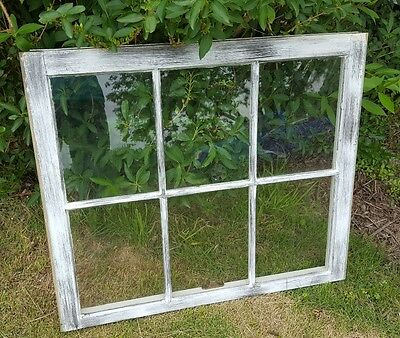 Vintage Sash Antique Wood Window Picture Frame Pinterest Distressed Rustic 36""