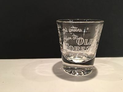 Old Forester Shot Glass - Nothing Better in the Market