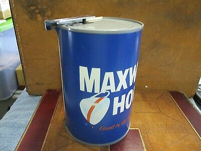 Vintage Dazey MAXWELL HOUSE COFFEE Can Electric Can Opener WORKS 1976