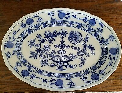 Meissen blue onion pattern bowl