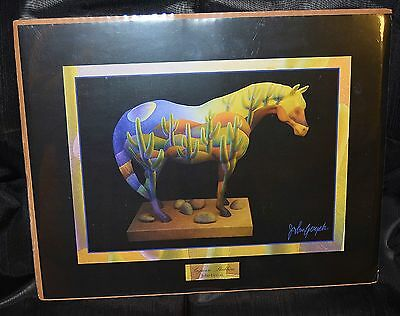 """Trail of the Painted Ponies SAGUARO STALLION  """"Framable Art Print""""  By Westland"""