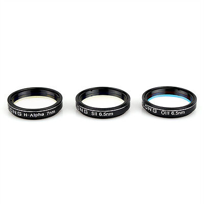 "OPTOLONG H-Alpha 1.25"" 7nm SII-CCD 6.5nm OIII-CCD 6.5nm Narrow-Band Filters Kit"