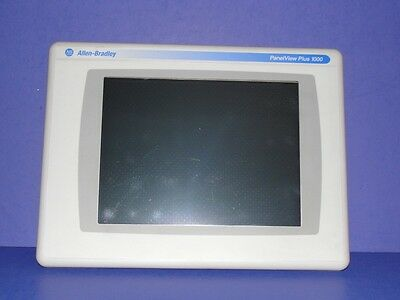 Allen Bradley PanelView Plus 1000 2711P-RDT10C Series B 10.4 inch DISPLAY ONLY