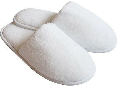 Men's White Slippers | Hotel Slippers