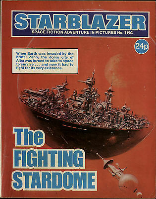The Fighting Stardome,starblazer Space Fiction Adventure In Pictures,no.164,1986