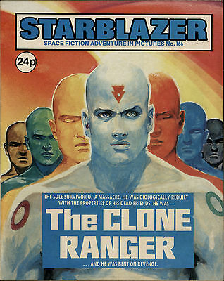The Clone Ranger,starblazer Space Fiction Adventure In Pictures,no.166