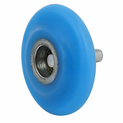 10mm Shaft Dia 80mm x 20mm R19.5 Coating Machine Silicon Rubber Wheel Roller
