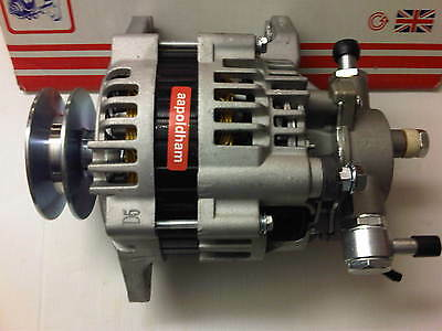 To Fit Isuzu Rodeo 2.5 3.0 Td Diesel 2002-2007 Brand New Alternator + Vac Pump