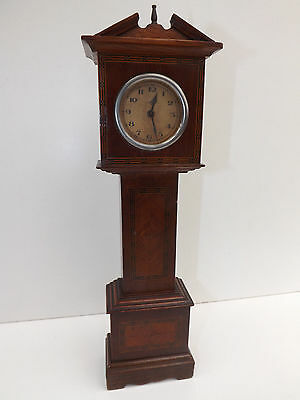 Antique Miniature Grandfather Clock