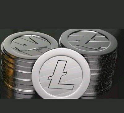 .5 LiteCoin Lite Coin LTC Directly to Wallet Cryptocurrency Crypto Currency