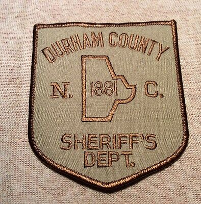 NC Durham County North Carolina Sheriff Patch